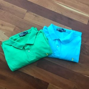 Two Men's Polos By Ralph Lauren